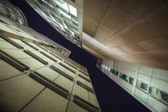 Hoge gebouwen van Barbacane, Londen, het UK Royalty-vrije Stock Fotografie