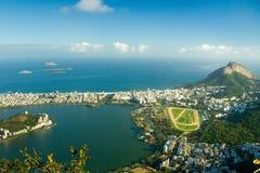 De Club van de jockey in Rio de Janeiro Stock Foto