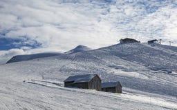 Hoge Hoogte Ski Domain Stock Foto