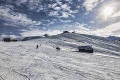 Hoge Hoogte Ski Domain Royalty-vrije Stock Foto's