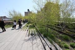 Hoge Lijn NYC Stock Foto's