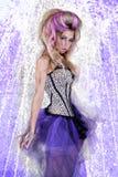 Hoge Manier Cinderella Royalty-vrije Stock Afbeelding