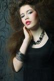Hoge mannequin royalty-vrije stock fotografie