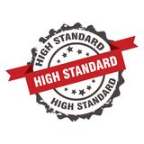 Hoge normzegel teken insignia Royalty-vrije Stock Foto's