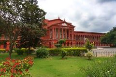 Hoge rechtsinstantie van Karnataka in Bengaluru, India. royalty-vrije stock fotografie