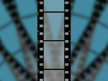 Hoge resolutie 3 frame film 35mm royalty-vrije illustratie