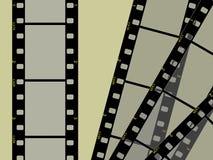 Hoge resolutie 3 frame film 35mm Royalty-vrije Stock Fotografie