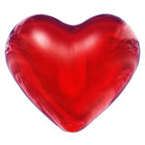 Hoge resolutie 3D hart dat bij maximumquali wordt teruggegeven Stock Fotografie
