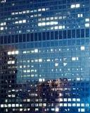 Hoge Resolutie Abstract Commercieel Centrum Stock Afbeeldingen