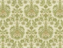 Hoge resolutie antiek behang met bloemenpatroon Royalty-vrije Stock Fotografie