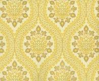 Hoge resolutie antiek behang met bloemenpatroon Royalty-vrije Stock Foto's