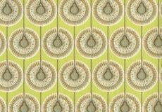 Hoge resolutie antiek behang met bloemenpatroon Royalty-vrije Stock Afbeelding