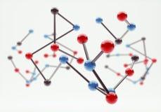 Moleculaire Structuur Stock Foto's