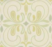 Hoge resolutiebehang met Bloemenpatroon Royalty-vrije Stock Afbeelding