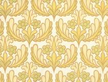 Hoge resolutiebehang met Bloemenpatroon Royalty-vrije Stock Foto's