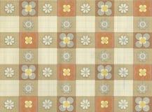 Hoge resolutiebehang met Bloemenpatroon Royalty-vrije Stock Afbeeldingen