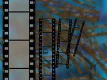 Hoge resolutieframe film 35mm vector illustratie