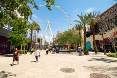 Hoge Rol Ferris Wheel Royalty-vrije Stock Foto