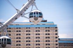 Hoge Rol Ferris Wheel Stock Foto's