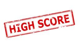 Hoge Score vector illustratie