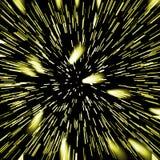 Hoge snelheid. De achtergrond van de disco Stock Afbeelding
