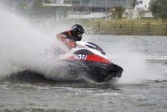 Hoge snelheid jetski5 Stock Afbeelding