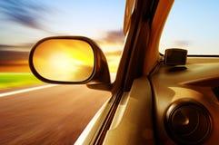 Hoge snelheidsauto royalty-vrije stock fotografie