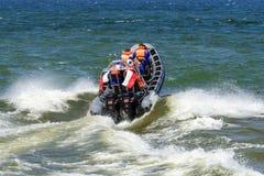 Hoge snelheidsboot Royalty-vrije Stock Foto