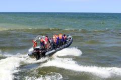 Hoge snelheidsboot Royalty-vrije Stock Afbeeldingen