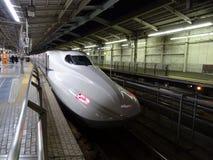 Hoge snelheidsUltrasnelle trein Stock Afbeelding