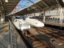Hoge snelheidsUltrasnelle trein Royalty-vrije Stock Fotografie