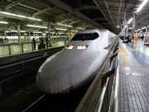 Hoge snelheidsUltrasnelle trein Royalty-vrije Stock Foto