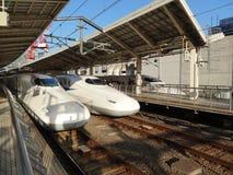 Hoge snelheidsUltrasnelle trein Royalty-vrije Stock Foto's