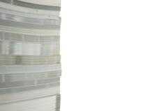 Hoge stapel van oude boeken Stock Fotografie