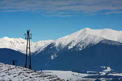 Hoge Tatra royalty-vrije stock foto's
