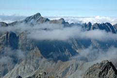 Hoge Tatras stock foto