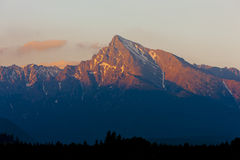 Hoge Tatras, Slowakije royalty-vrije stock afbeelding