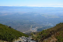 Hoge Tatras Slowakije Stock Afbeeldingen