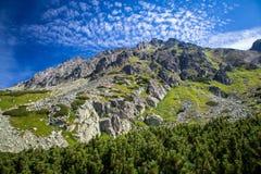 Hoge Tatras, Slowakije Stock Foto's