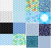 Hoge texturen - technologiehoningraten Vector Illustratie