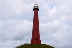 Hoge vuurtoren van IJmuiden Lighthouse Stock Fotografie