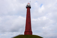 Hoge vuurtoren van IJmuiden Lighthouse Stock Photography