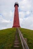 Hoge vuurtoren van IJmuiden Lighthouse Royalty Free Stock Image