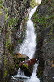 Hoge waterval stock foto's