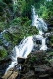 Hoge watervallencascade Krok I Dok in Bosthailand Royalty-vrije Stock Afbeeldingen
