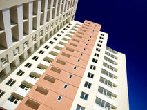 Hoge woningbouw Royalty-vrije Stock Afbeelding