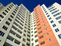 Hoge woningbouw Stock Foto