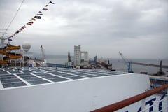 Hoger dek van Costa Concordia Royalty-vrije Stock Foto