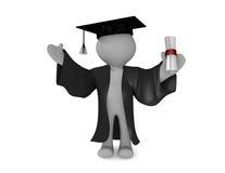 Hoger onderwijs royalty-vrije illustratie