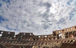 Hoger plaatsingsgebied in Colosseum, Rome Royalty-vrije Stock Foto